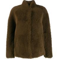 Sprung Frères Edina Shearling Jacket - Marrom