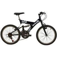 Bicicleta Full Suspension Kanguru Aro 20 V Brake 18 Marchas Polimet - Unissex