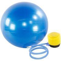 Bola Yoga Suiça Pilates Abdominal Gym Ball 75Cm C/ Bomba 4Feet