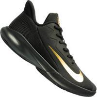 Tênis Nike Precision Iv - Masculino - Preto/Ouro