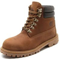Bota Couro Timberland Brooklyn Boot M Burnt Orange 2 Caramelo