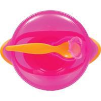 Kit Refeição Rosa Com Colher - Buba