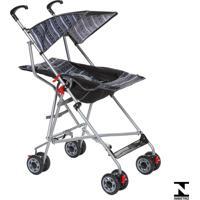 Carrinho De Passeio Para Bebê Umbrella Slim Preto Voyage
