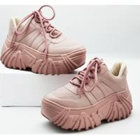 Tênis Mondrian Chunky Sneakers Rose