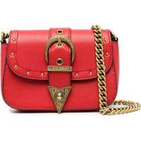 Versace Jeans Couture Bolsa Transversal De Couro - Vermelho