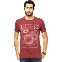 Camiseta Lemon Grove Estampa Vinho