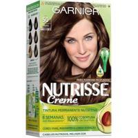 Coloração Nutrisse Garnier 50 Amêndoa Castanho - Unissex-Incolor