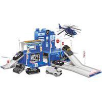 Pista De Carrinhos - Base Polícia De Elite - Unik Toys
