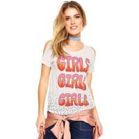Blusa It'S & Co Girls Bege