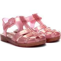 Sandália Infantil Grendene Kids Barbie Glitz - Feminino-Rosa