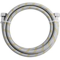Ligação Flexível Em Inox Para Gás 1/2'' Com Adaptador 1/2'' Com 2 Metros