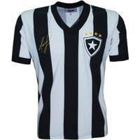 Camisa Botafogo Liga Retrô Mauricio 1989 - Masculino