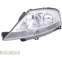 Farol - Importado - Citroën C3 2003 Até 2012 - Manual - Lado Do Motorista - Cada (Unidade) - 21803