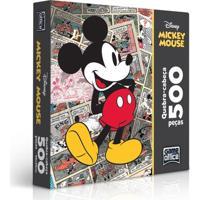 Quebra-Cabeça Mickey Clássicos 500 Peças - Toyster - Disney - Masculino-Incolor