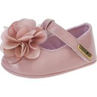 Sapato Fofopé Boneca Flor Rosê