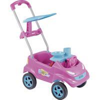 Carrinho Infantil De Passeio Homeplay Baby Car Rosa E Turquesa