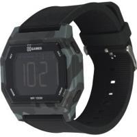 Relógio Digital X Games Xgppd135 - Masculino - Preto/Cinza