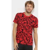 Camiseta Puma Ferrari Aop Masculina - Masculino