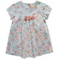 Vestido Bebê Menina Tricoline Com Body Interno Em Cotton Milon-P