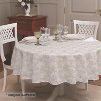 Toalha De Mesa Gardãªnia Elegance- Branca- Ø155Cmlepper