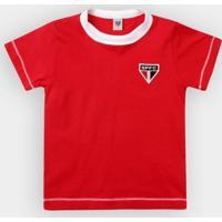 Camiseta São Paulo Infantil Cores Clube - Masculino