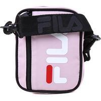 Bolsa Shoulder Bag Fila Versatili - Unissex-Rosê