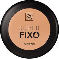 Pó Compacto Rk By Kiss Super Fixo Cor Creme 15G - Feminino-Incolor