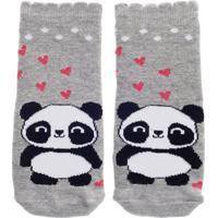 Meia Panda Friends - Rosa Pink/Tu