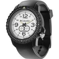 Relógio De Pulso Columbia Urbaneer - Masculino-Preto+Branco