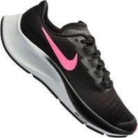 Tênis Nike Air Zoom Pegasus 37 Gs - Infantil - Preto/Rosa