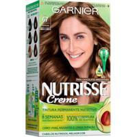 Coloração Nutrisse Garnier 67 Chocolate Paloma Louro - Unissex