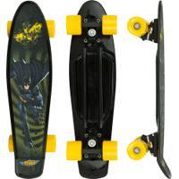 Skate Cruiser Bel Fix Batman Dc Comics - Infantil - Preto