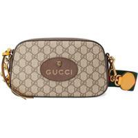 Gucci Messenger Bag Gg Supreme - Marrom