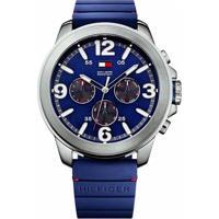 Relógio Tommy Hilfiger Masculino Borracha Azul - 1791096