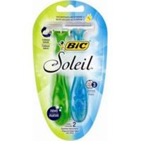 Aparelho De Depilação Bic Soleil Azul/Verde 2 Unidades