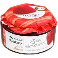 Geleia Zero Adicao De Acucar De Morango- 220G Casa Madeira