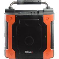 Caixa De Som Benoá Da180B/Bn180B Com Amplificador Microfone Sem Fio