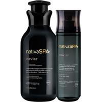 Presente Nativa Spa Caviar: Loção Hidratante + Body Splash