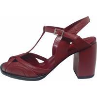 Sapato Thádiva Vitória Vermelho