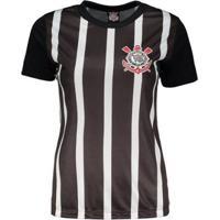 Camiseta Corinthians Tradição Democracia Feminina - Feminino