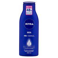 Loção Hidratante Nivea Milk Hidratação Profunda Com 400Ml 400Ml