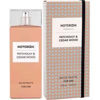Notebook Patchouly & Cedar Wood De Selectiva Spa Eau De Toilette Masculino 100 Ml