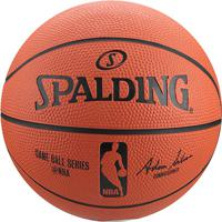 a04129f897 Netshoes  Mini Bola Basquete Spalding Nba Game Ball Réplica Outdoor Rubber  Tam 3 - Unissex
