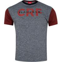 Camiseta Do Flamengo Hyped 19 - Masculina - Cinza