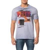 eb0479e6de7352 Camiseta Ckj Mc Est. New Vision Faixas - Pp