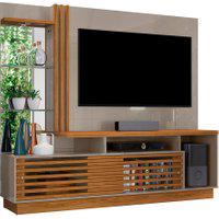 Home Theater Frizz Plus Cinza/Naturale Madetec