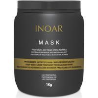 Inoar Máscara De Hidratação Mask Proteínas Do Trigo E Macadâmia 1Kg - Unissex