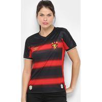 Camisa Sport Recife I 20/21 S/N° Estádio Umbro Feminina - Feminino