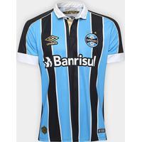 Camisa Grêmio I 19/20 S/Nº Torcedor Umbro Masculino - Masculino