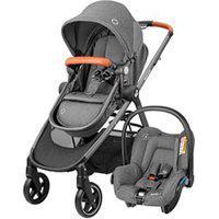 Carrinho De Bebê Com Bebê Conforto Travel System Anna² Trio Sparkling Grey - Maxi-Cosi